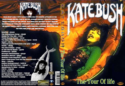 Kate Bush - The Tour of Life DVD