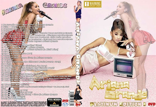 Ariana Grande Music Video Platinum Edition2 DVD