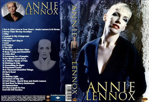 Annie Lennox Music Video DVD