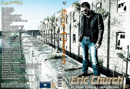 Eric Church Music Video Collection DVD