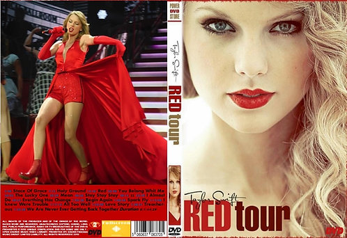 Taylor Swift The Red Tour DVD
