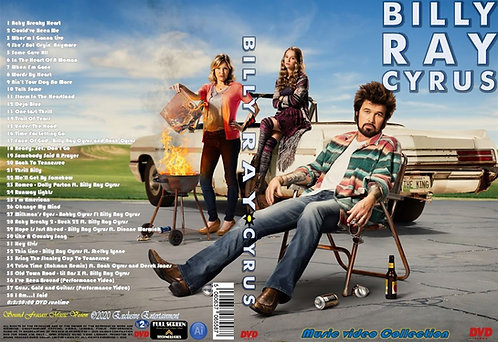 Billy Ray Cyrus Music Video Collection DVD