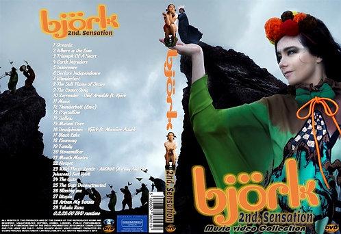 Bjork Music Video DVD 2nd Sensation