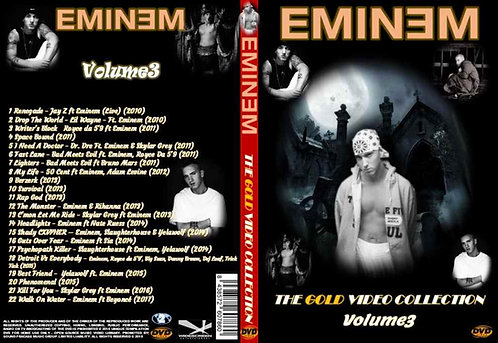 Eminem Music Video DVD Gold Edition Volume3