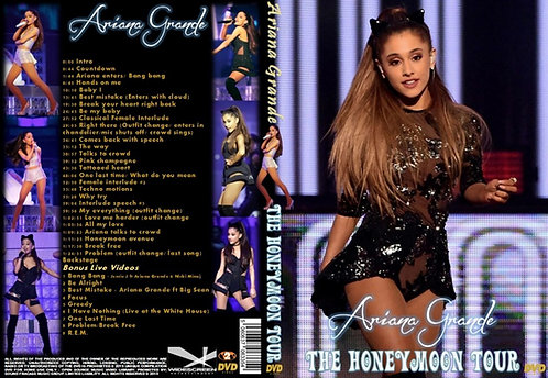 Ariana Grande Honeymoon Tour DVD