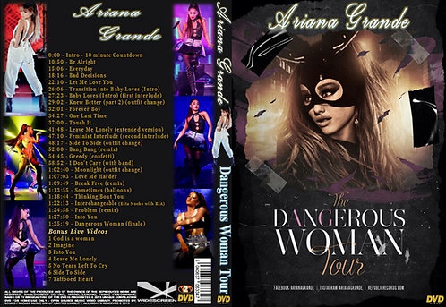 Ariana Grande Dangerous Woman Tour DVD