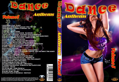 Dance Anthems Clubdance Music Video DVD Volume3