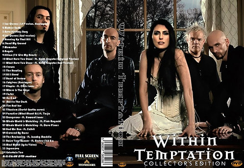 Within Temptation Music Video Collector's Editon DVD