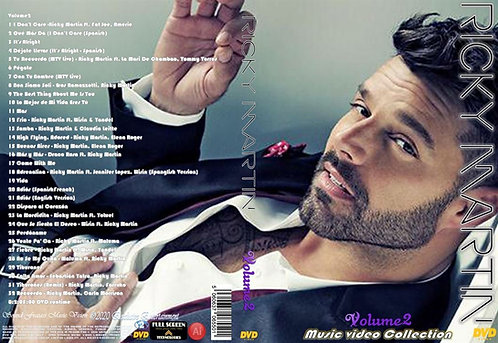 Ricky Martin Music Video Collection DVD Volume2