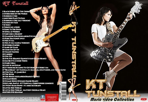 KT Tunstall Music Video DVD