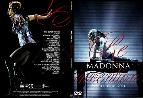 Madonna ReInvention World Tour Live DVD