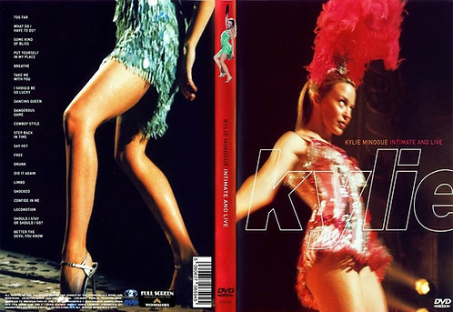 Kylie Minogue Intimate and Live (Sydney) 1998 DVD