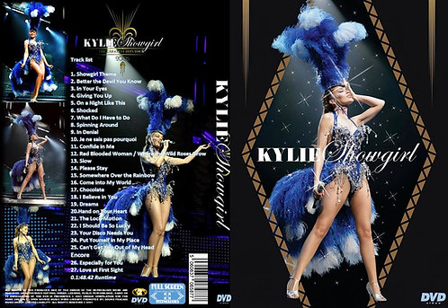 Kylie Minogue Showgirl The Greatest Hits Tour 2005 DVD
