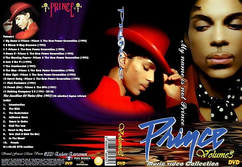 Prince Music Video Collection DVD Volume3