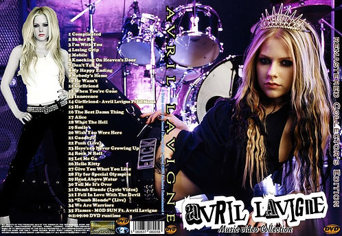 Avril Lavigne Music Video Collection DVD – Remastered Edition