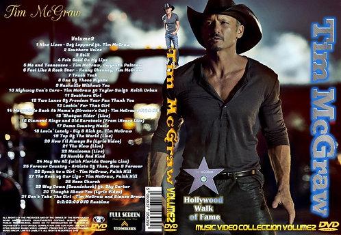 Tim McGraw Music Video DVD Volume2