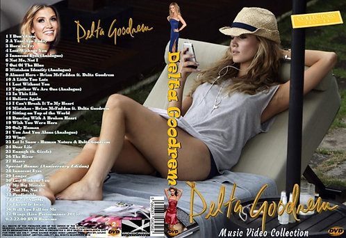 Delta Goodrem Music Video DVD – Essential Collector's Edition