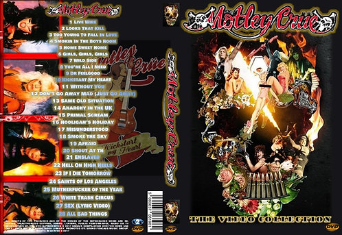 Motley Crew Music Video DVD