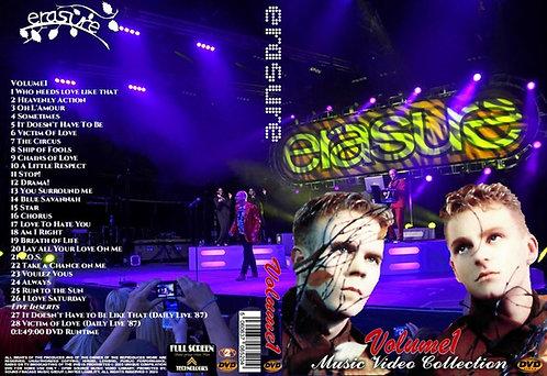Erasure Music Video Collection DVD Volume1