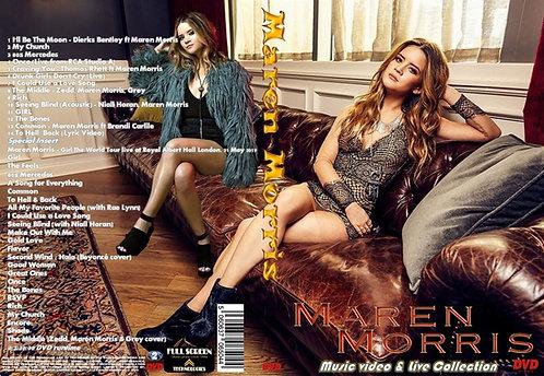 Maren Morris Music Video DVD