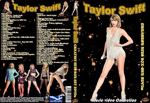 Taylor Swift Music Video Box-Set 2 DVDs