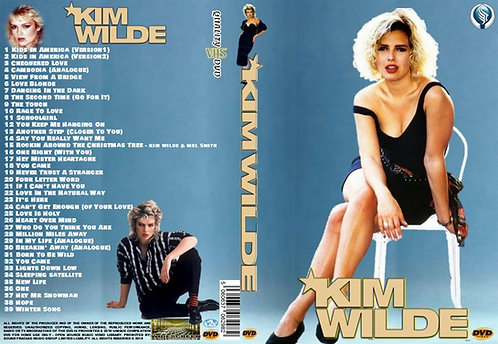 Kim Wilde Music Video DVD – Essential Collector's compilation