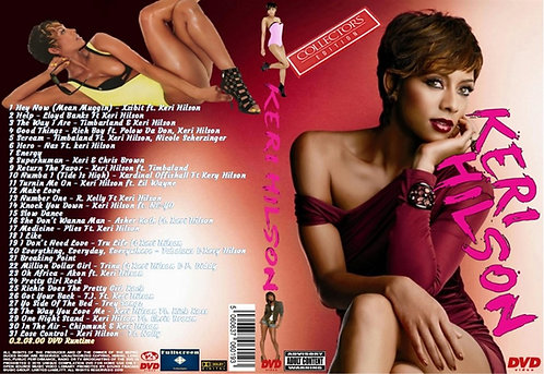 Keri Hilson Music Video DVD ~ Collector's Edition