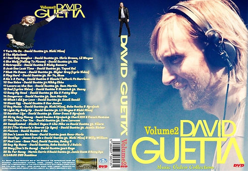 David Guetta Music Video DVD Volume2
