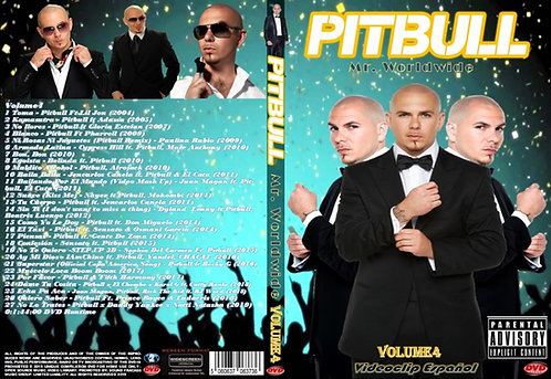 Pitbull Music Video DVD Volume4 Videoclip Español