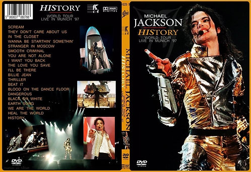 Michael Jackson History World Tour DVD