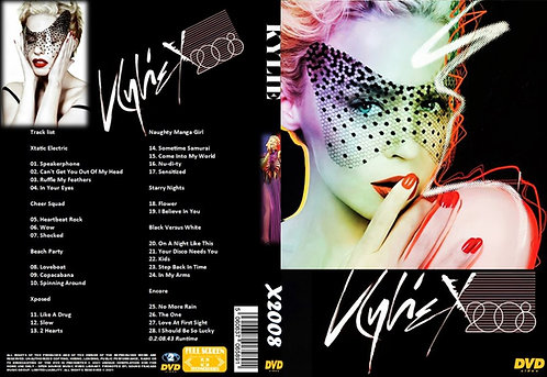 Kylie Minogue X Tour 2008 DVD