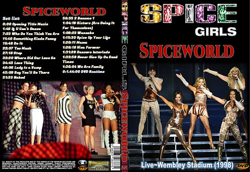 Spice Girls The Spiceworld Tour DVD