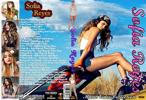 Sofia Reyes Music Video Collection DVD