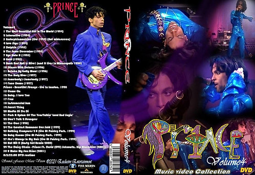 Prince Music Video Collection DVD Volume4