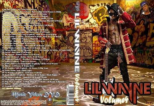 Lil Wayne Music Video Collection DVD Volume4