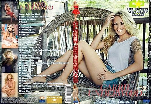 Carrie Underwood Music Video DVD