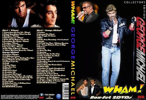 George Michael. Wham! Music Video Box-set 2DVD