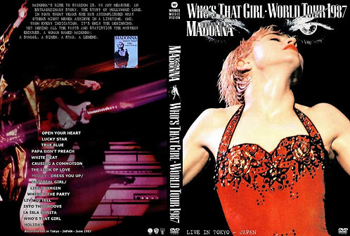 Madonna Who's That Girl World Tour DVD Live In Japan