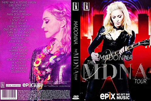 Madonna The MDNA World Tour Music Video DVD