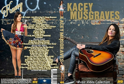 Kacey Musgraves Music Video DVD