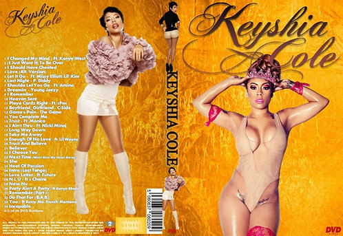 Keyshia Cole Music Video DVD