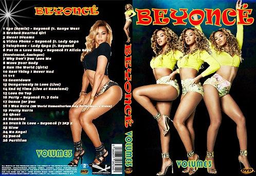 Beyonce Music Video DVD Volume3