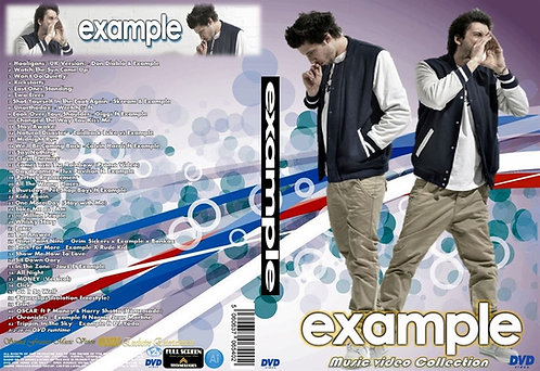 Example Music Video Collection DVD