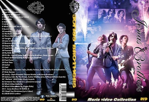 Jonas Brothers Music Video Collection DVD