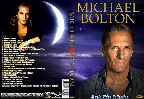 Michael Bolton Music Video DVD