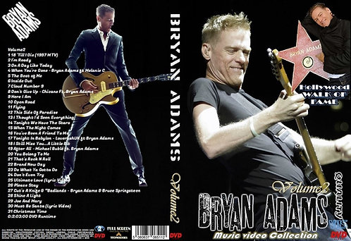 Bryan Adams Music Video DVD Volume2 Collector's Edition