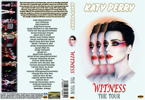 Katy Perry - Witness The Tour DVD
