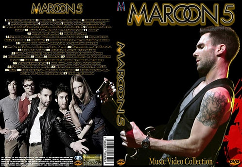 Maroon 5 Music Video DVD