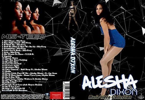 Alesha Dixon Music Video DVD