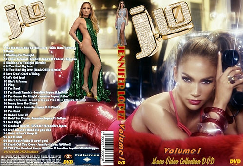 Jennifer Lopez Music Video DVD ~ Volume1